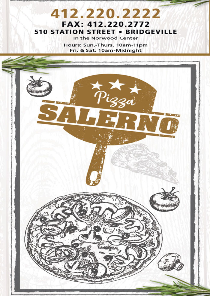 Salerno's pizza coupons